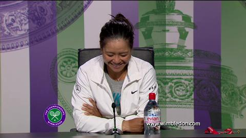 Li Na quarter-final Wimbledon 2013 press conference