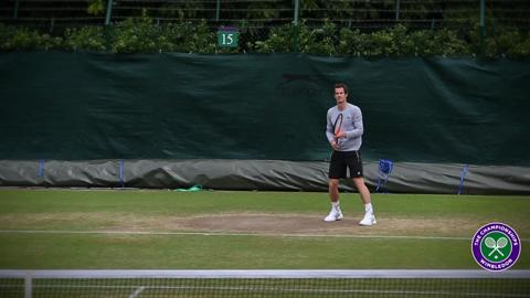 Exclusive insight into Andy Murray ahead of the Wimbledon semi-final