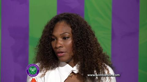 Wimbledon 2012: Serena Williams answers questions from the media