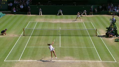 2013 Day 12 Highlights: Marion Bartoli v Sabine Lisicki