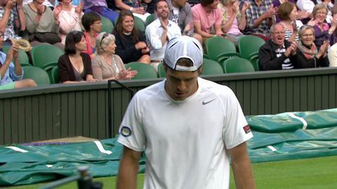 2013 Day 7 Highlights: Novak Djokovic v Tommy Haas
