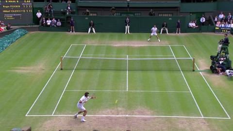 Wimbledon 2012 Day Nine Highlights: Roger Federer v Mikhail Youzhny