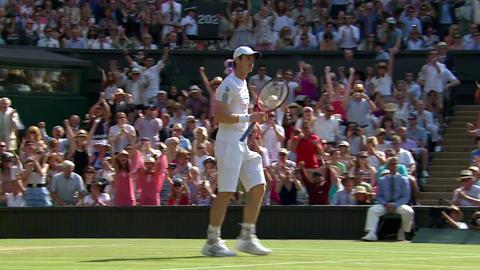 2013 Day 13 Highlights: Gentlemen's Singles Final Andy Murray vs Novak Djokovic