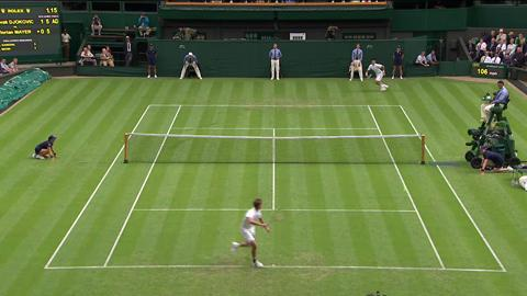 HSBC Perfect Play: Novak Djokovic at Wimbledon 2013