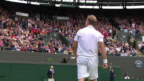 HSBC Perfect Play: Steve Darcis at Wimbledon 2013