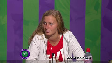 Wimbledon 2012: Petra Kvitova on Ladies' Singles quarter-final defeat