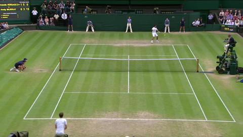 HSBC Perfect Play: Murray quarter-final Wimbledon 2013
