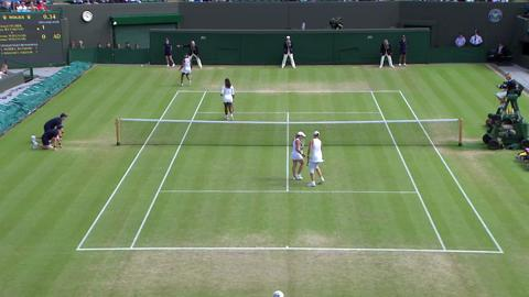 Wimbledon 2012 Day 11 Highlights: Liezel Huber & Lisa Raymond v Serena Williams & Venus Williams