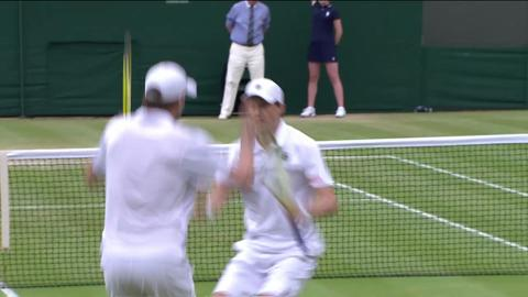 Wimbledon 2012 Day 10 Highlights: Bob Bryan & Mike Bryan v Scott Lipsky & Rajeev Ram