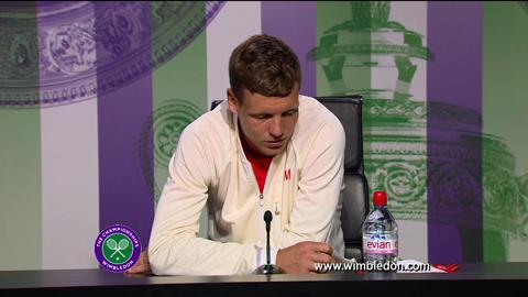 Tomas Berdych second round Wimbledon press conference