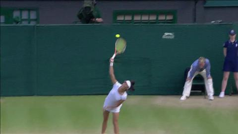 Wimbledon 2012 Day 10 Highlights: Colin Fleming & Su-Wei Hsieh v Dominic Inglot & Laura Robson