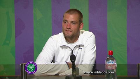 Wimbledon 2012: Mikhail Youzhny meets the media