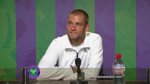 Wimbledon 2012: Mikhail Youzhny meets the media