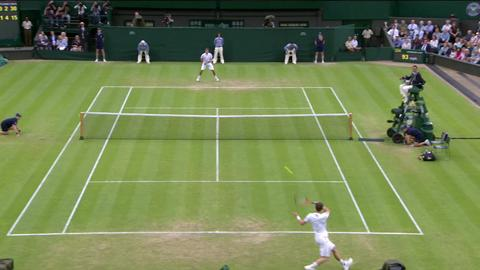 013 Day 5 Highlights: Andy Murray v Tommy Robredo