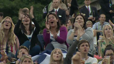 HSBC Perfect Play: Murray semi-final Wimbledon 2013