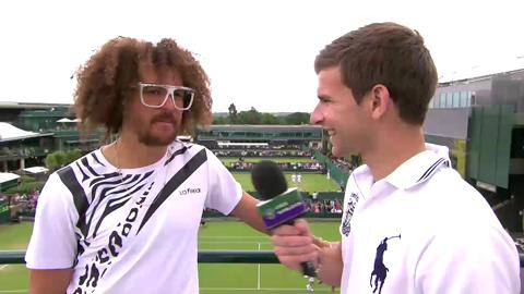 Redfoo talks to Live @ Wimbledon