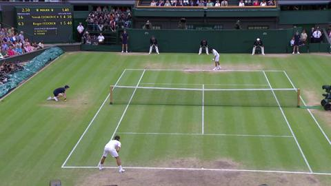 Wimbledon 2012 Day 11 Highlights: Novak Djokovic v Roger Federer