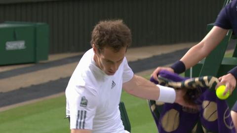 2013 Day 9 Highlights: Andy Murray v Fernando Verdasco
