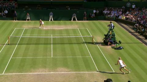 Wimbledon 2013 Day 10 Highlights