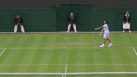 Wimbledon 2013 Day 1 Highlights