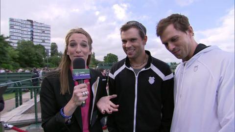 The Bryan Brothers answer Wimbledon Quiz questions