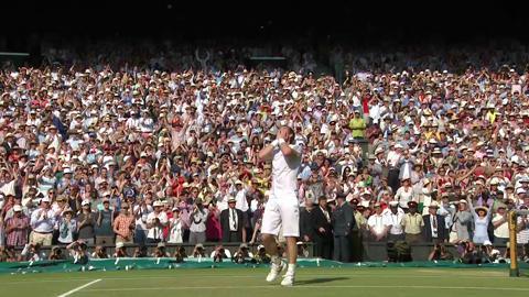 Andy Murray wins Wimbledon 2013 title
