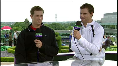 The Bryan Brothers visit the Live @ Wimbledon studio