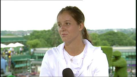 Laura Robson visits the Live @ Wimbledon Studio