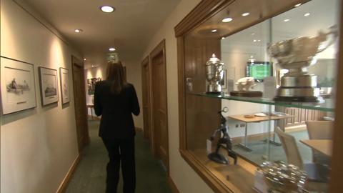Wimbledon's Walk of Champions to Centre Court