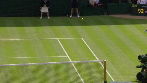 2013 Day 2 Highlights: Serena Williams v Mandy Minella