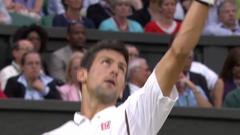 2013 Day 4 Highlights - Novak Djokovic v Bobby Reynolds