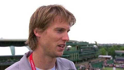 Andreas Seppi Live @ Wimbledon Interview