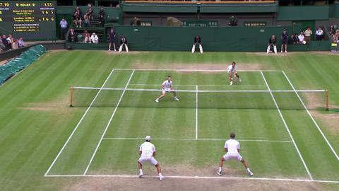 Wimbledon 2012 Day 12 Highlights: Jonathan Marray & Frederik Nielsen v Horia Tecau & Robert Lindstedt
