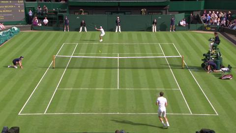 2013 Day 1 Highlights: Andy Murray v Benjamin Becker