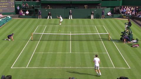 2013 Day 1 Highlights: Andy Murray v Benjamin Becker