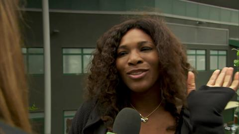 Serena Williams answers Wimbledon quiz questions