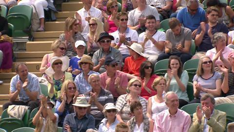 Dustin Brown incredible volley at Wimbledon 2013
