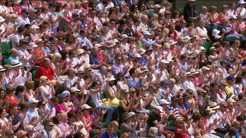 HSBC Perfect Play: Jesse Levine at Wimbledon 2013