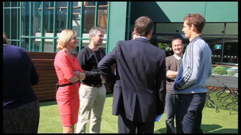 Andy Murray's post-Wimbledon media blitz
