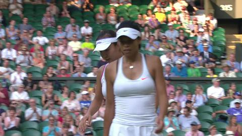 2013 Day 12 Highlights: Hsieh/Peng v Barty/Dellacqua