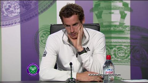 2013 Champion Andy Murray discusses his victory