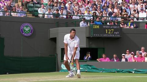 Wimbledon 2012 Day Nine Highlights: Jo-Wilfried Tsonga v Philipp Kohlschreiber