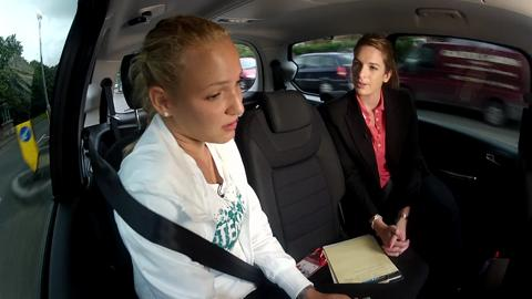 Donna Vekic takes a ride with Hertz and catches up with Live @ Wimbledon