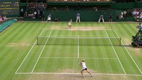 2013 Day 10 Highlights: Sabine Lisicki v Agnieszka Radwanska