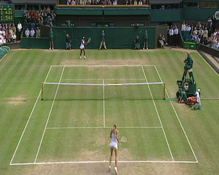 2004 Golden Moment - Sharapova v Williams