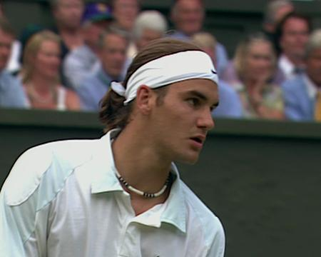 2001 Golden Moment - Federer v Sampras