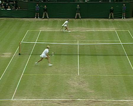 1998 Golden Moment - Novotna v Tauziat