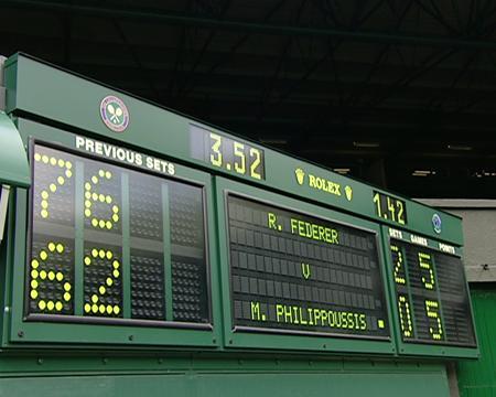 2003 Golden Moment - Federer v Phillipoussis