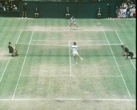 1981 Golden Moment - Borg v McEnroe Final Game