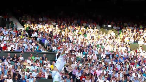 2013 Golden Moment - Federer v Stakhovsky